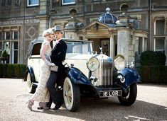 Daisy Buchanan & Jay Gatsby Got Married Inspiration Shoot