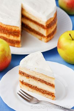 Apple pie layer cake