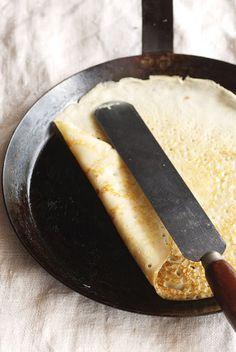 eggnog crepes