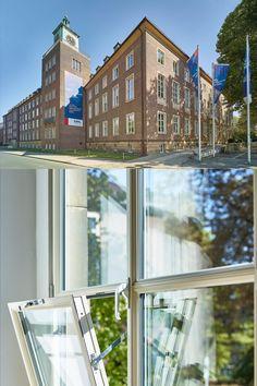 Architecture: Mensen+Zora Architekten Partnerschaft mbB, Münster/DE | Metal construction: Metallgestaltung Stratmann GmbH, Essen/DE | Window systems: Janisol Arte 2.0 | Manufacturer: Jansen AG, Oberriet/CH | Picture credit: Studio Protein s.r.o., Kladno/CZ