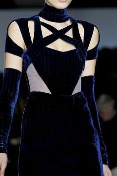 Peter Pilotto | Blue Velvet makes me purr like a kitten, love this!