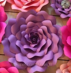 Diy giant paper flower crafts n creations diy giant paper flower crafts n creations youtube flores detela pinterest flowers flower and giant paper mightylinksfo