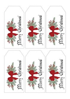 Get organised for Christmas with your Christmas Tags. Print off as many as you need .