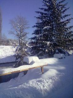 Iarna...Bistriţa, Neamţ