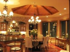 Great Remodel with beautiful lighting