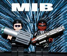 Lego MIB Poster