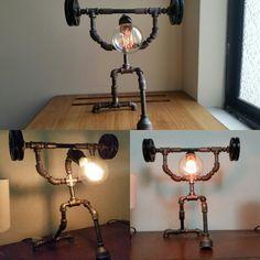 """La primera lámpara decorativa de una serie llamada: """"GYM STORY"""" precio: $120"""