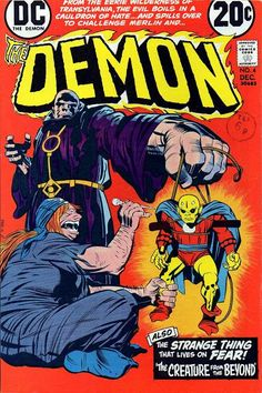 "Demon vol. 1 #4, ""The Creature from Beyond"" (December, 1972)."