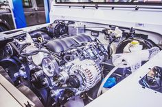 It's what's underneath that really makes the biggest difference!  #AntiOrdinary #LandRoverDefender #UnderTheBonnet #TwistedDefender #LandRover #Defender #Engine #DefenderRedefined #Handcrafted #Handmade #4x4 #Modified #Customised #Power #Speed #Details