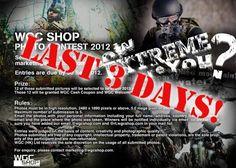 Last 3 Days for WGC Shop Photo Contest 2012