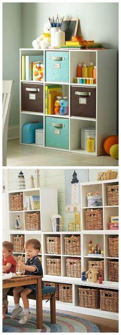 Kids room ideas – Home Decor Designs Small Playroom, Playroom Storage, Playroom Decor, Home Decor Bedroom, Colorful Playroom, Girl Room, Girls Bedroom, Kids Homework Room, Creative Kids Rooms
