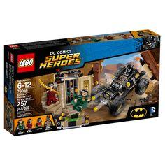 Embarque em uma espetacular aventura com Lego Super Heroes DC Comics - Batman: Resgate de Ras al Ghul, um conjunto incrível que proporcionar uma animada aventura para a garotada.