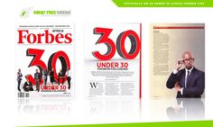 Six South Africans feature in Forbes Africa's Most Promising Entrepreneurs under 30 Meet South Africa's six most promising young entrepreneurs and take a look at all they've achieved before their 30th birthday. http://www.thesouthafrican.com/six-south-africans-feature-in-forbes-africas-most-promising-entrepreneurs-under-30/