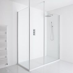 Add designer style to your bathroom with the Milano walk in shower Shower Enclosure, Screen Mounts, Bamboo Ceiling, Walk In Shower, Small Bench, Room Divider, Shower Screen, Luxury Shower, Walkin Shower