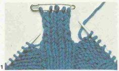 Tricot e Croche Passo a Passo Receitas: Como fazer corrente formada por tiras cruzadas no ...