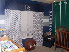 Dallas Cowboys Nursery Omgosh My Husband Would Never Let Me But This Is  Sooooo Awesome!