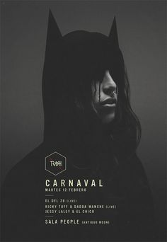 POSTERS M by Maykel Lima, via Behance #graphic #design #poster #dark