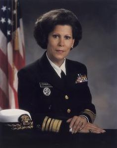 "Photo of Vice Admiral Antonia C. Novello, M.D., M.P.H., Dr.P.H. (USPHS); 14th Surgeon General of the United States. Credit: U.S. Department of Health and Human Services; Wikimedia Commons. Read more on the GenealogyBank blog: ""Antonia Novello: First Woman, and Hispanic, Surgeon General."" http://blog.genealogybank.com/antonia-novello-first-woman-and-hispanic-surgeon-general.html"
