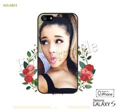 Ariana grande Phone Cases, iPhone 5/5S Case, iPhone 5C Case, iPhone 4/4S Case, Galaxy S3 S4 S5 Note 2 Note 3 Case for iPhone-A051