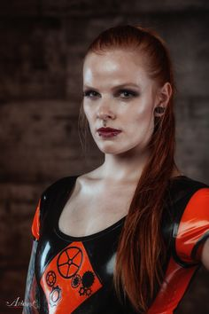 Photographer: Aspherical Fotografie Muah: Francis van Essen Latex: Odd Territory