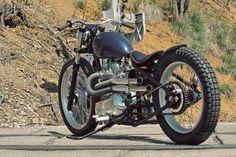 Triumph Bonneville (VII) Velvet Underground | Atom Bomb Customs