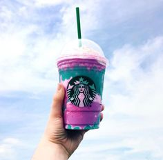 Perfect New Food To Try For 4/20: Starbucks's Unicorn Frappucino.