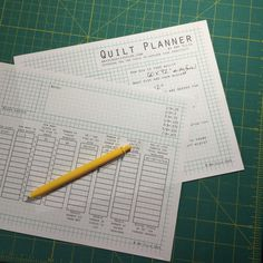 The Quilt Planner tool by Amy Ellis