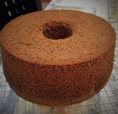 Dark Pearl Chiffon – modified by Enne Ty Chocolate Chiffon Cake, Chocolate Cakes, Pastry Cake, Doughnut, Cocoa, Muffin, Breakfast, Desserts, Pearl