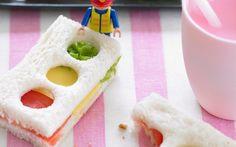 Traffic Light Sandwiches