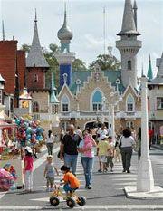 La República (o ciudad) de los niños. La Plata. Argentina. Dicen que Walt Disney se inspiró en ella para crear el parque en USA