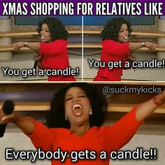 Everybody gets a candle!!