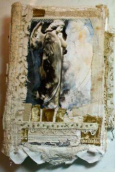 Art journal inspiration. angel journal | Flickr - Photo Sharing!