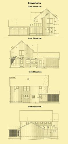3 Bedroom Cottage Plans, Traditional Home Designs & Farmhouse Plans