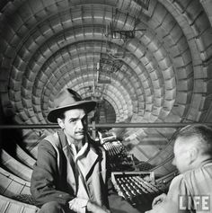 Howard Hughes in the Spruce Goose 1947