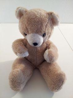 Knickerbocker Vintage Teddy Bear Plush Animals of Distinction Brown  #Knickerbocker