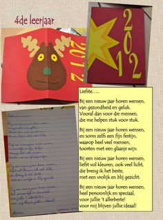 Nieuwjaarsbrieven bovenbouw by Jan Vanwynsberghe