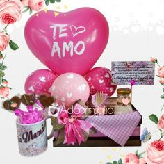 Pink Candy, Ideas Para, Christmas Bulbs, Minnie Mouse, Valentines Day, Chocolate, Holiday Decor, Creative, Party