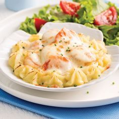 Poisson/fruits de mer - Page 10 of 27 - 5 ingredients 15 minutes Humble Potato, Confort Food, Coquille Saint Jacques, Aussie Food, Best Seafood Recipes, Fish Dishes, Main Meals, Entrees, Macaroni And Cheese
