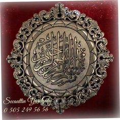 YURTGÜLÜ RÖLYEF Crafts To Do, Diy Crafts, Aluminum Foil Art, Pewter Art, Metal Embossing, Islamic Art, Art And Architecture, Metal Art, Metal Working