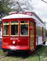 You can ride the Canal Street line from the New Orleans Museum of Art down to the Casino for $1.25. Just don't call it a Trolley!