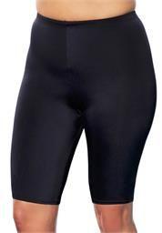 Plus Size Extended Length Bike Short