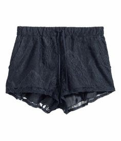 Grey Lace Shorts | H&M