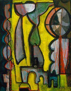 William Baziotes Woman at Window 1946