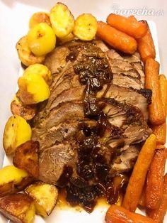 Staročeská pečená krkovička Pot Roast, Ale, Cooking, Ethnic Recipes, Food, Carne Asada, Kitchen, Roast Beef, Eten