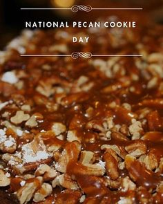 Here is a sweet tweet for #NationalPecanCookieDay! French Pastry School, Pecan Cookies, French Pastries, Holiday Recipes, Holidays, Twitter, Breakfast, Sweet, Food