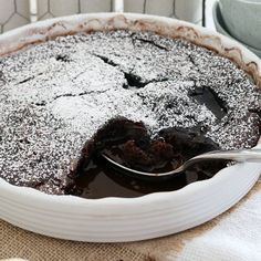 A rich Thermomix Chocolate Self-Saucing Pudding that will satisfy even the biggest of chocoholics! This is one of the best winter desserts ever!