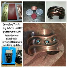 Jewelry tools by Kevin Potter at potterusa.com.   For How To video tutorials, YouTube Kevin Potter. Friend Kevin Potter on Facebook  for and daily updates.