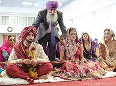 indian wedding ceremony groom bride http://maharaniweddings.com/gallery/photo/12170