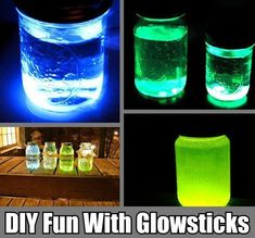 DIY Glowsticks