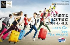 American Tourister Lot Amazing Offer for Retailers and Distributors!